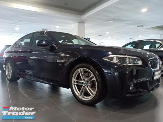 2016 BMW 5 SERIES 520I M SPORT LCI(BMW AUTHORISED DEALER)