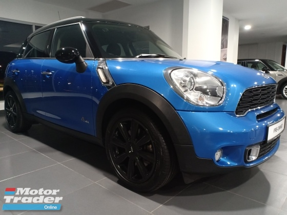 2014 MINI Countryman (R60) ALL4 (MINI AUTHORIZED DEALER)