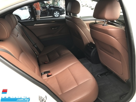 2014 BMW 5 SERIES Unreg BMW 520i 2.0 Turbo M Sport Paddle Shift Keyless Camera 8 Speed