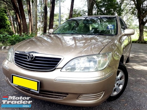 2004 TOYOTA CAMRY 2.0E (A) LOW MILEAGE LEATHER 1 OWNER