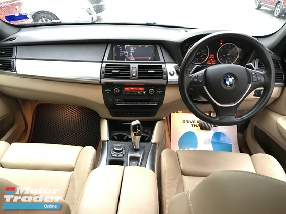 2013 BMW X6 X DRIVE 35I 3.0 (AT) TWIN TURBO UK SPEC