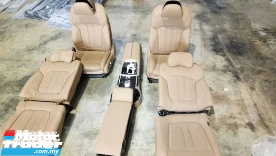BMW G12 7 SERIES SEAT SET BMW MALAYSIA NEW USED RECOND CAR PART SPARE PART AUTO PART HALF CUT HALFCUT GEARBOX TRANSMISSION MALAYSIA