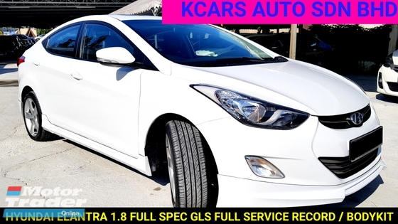 2014 Hyundai Elantra 1 8gls Full Spec Free 1 Yrs Warranty Rm
