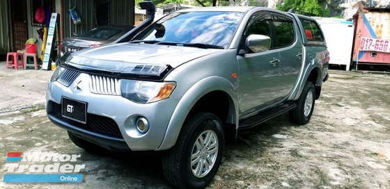2008 MITSUBISHI TRITON 2.5 (A) DIESEL TURBO TIPTOP WITH CANOPY GT NUMBER PLATE
