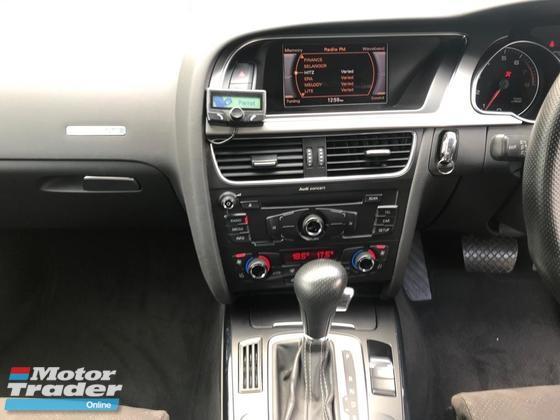 2012 AUDI A5 2.0 TFSI QUATTRO SLINE COUPE RS5 FULL SPEC