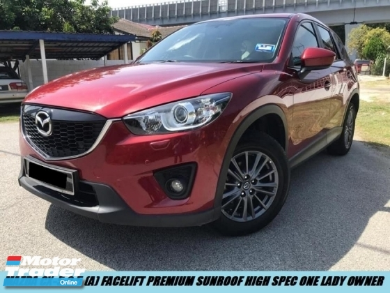 2016 MAZDA CX-5 2WD PREMIUM SUNROOF HIGH SPEC LIMITED EDITION ONE OWNER LOW MILEAGE TIPTOP CONDITION LIKE NEW CAR SHOWROOM