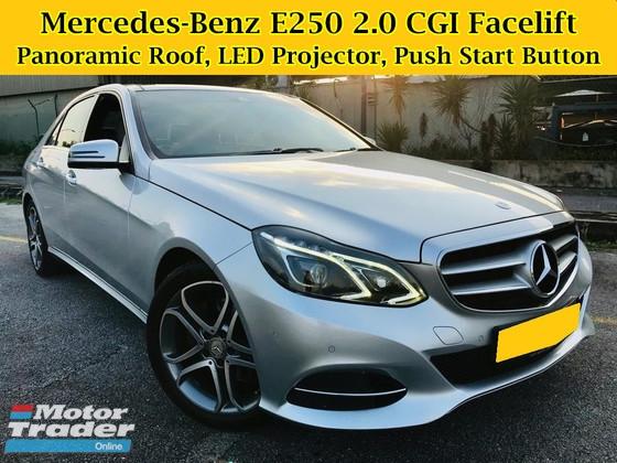 2014 MERCEDES-BENZ E-CLASS E250 AVANTGARDE 2.0 (A) W212 FACELIFT Free Warranty w205 E-CLASS