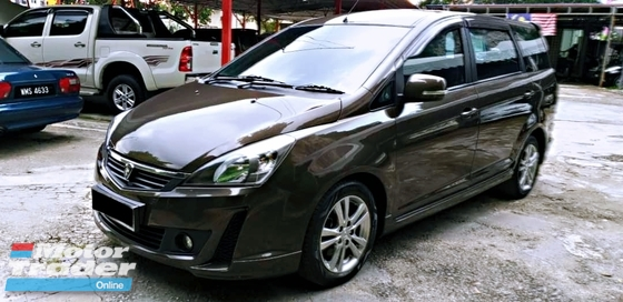 2013 PROTON EXORA 1.6 (A) BOLD PREMIUM HIGH SPEC FAMILY LUXURY MPV FULL LOAN