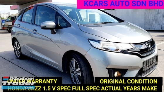 2016 HONDA JAZZ 1.5 i-VTEC V FULL SPEC  UNDER WARRANTY ACTUAL YRS MAKE