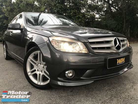 2010 MERCEDES-BENZ C-CLASS C200 AMG 1.8 PADDLE SHIFT FULL SEVICE RECORD LIKE NEW