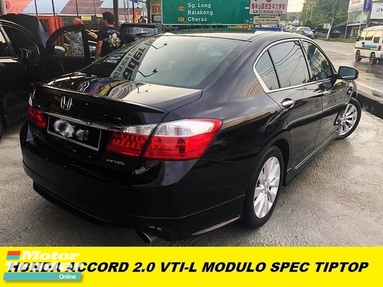2016 HONDA ACCORD 2.0 VTI-L HIGH SPEC FULL LEATHER SEAT NAVI HD REVERE CAMERA COMFORTABLE CAR ONE TEACHER OWNER BEFORE