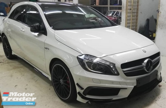 2015 MERCEDES-BENZ A-CLASS MERCEDES BENZ A45 AMG