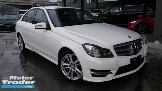 2013 MERCEDES-BENZ C-CLASS C180 AVANTGARDE GOOD CONDITION - UNREG -