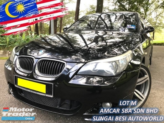 2007 BMW 5 SERIES 525I M-SPORTS 2.5 FACELIFT LOCAL