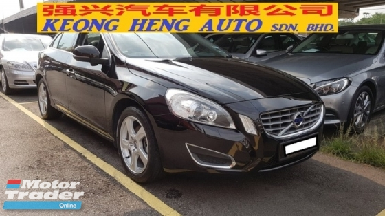 2013 VOLVO S60 T4 1.6cc (A) SEDAN, REG AUGUST 2014, ONE CAREFUL OWNER, FULL SERVICE RECORD, LOW MILEAGE DONE 78K KM, FREE 1 YEAR GMR CAR WARRANTY, 17\