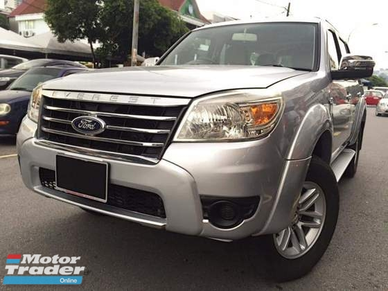 2010 FORD EVEREST 2.5 TDCI 4X4 (M)