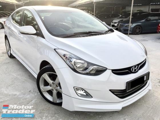 2014 Hyundai Elantra 1 8 Gls A Full Svr Record Free Warranty Rm