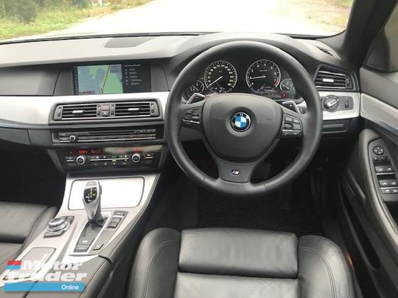 2013 BMW 5 SERIES 528i M-SPORTS F10 2.0 (A) LOCAL  TWIN POWER TURBO FULL SPEC