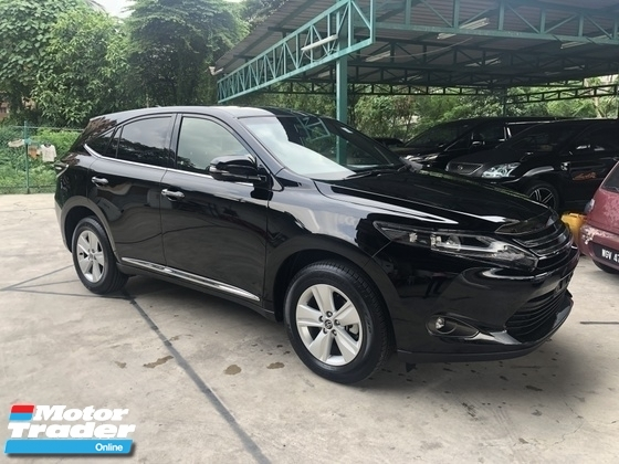2016 TOYOTA HARRIER 2.0 3ZR-FAE 360 View Surround Camera Automatic Power Boot Auto Power Seat Intelligent Bi LED Smart Entry Push Start Button Multi Function Steering 9 Air Bag Unreg