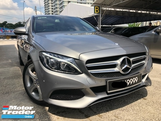 2016 MERCEDES-BENZ C-CLASS C200, Facelift, Service Record, Under Warranty, Nice Number, Factory Condition, Call Now