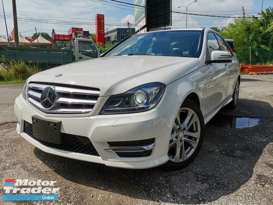 2013 MERCEDES-BENZ C-CLASS 2013 Mercedes C180 Avantgarde Japan Spec Unregister for sale