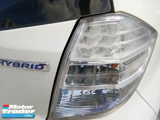 2015 HONDA JAZZ  hybrid 1.3 full service under warranty