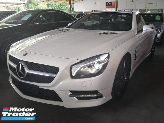 2014 MERCEDES-BENZ SL-CLASS 3.0 TWIN POWER TURNOCHARGER PANAROMIC ROOF HARMAN KARDON SURROUND SOUND SYSTEM