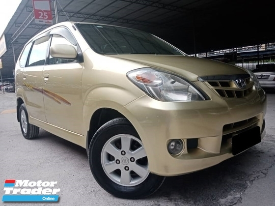 2009 TOYOTA AVANZA Toyota Avanza 1.3 AT VVTI TIP TOP CONDITION 1 OWNER