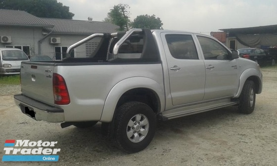 2008 TOYOTA HILUX 2.5 (A)DIESEL TURBO GREEN ENGINE