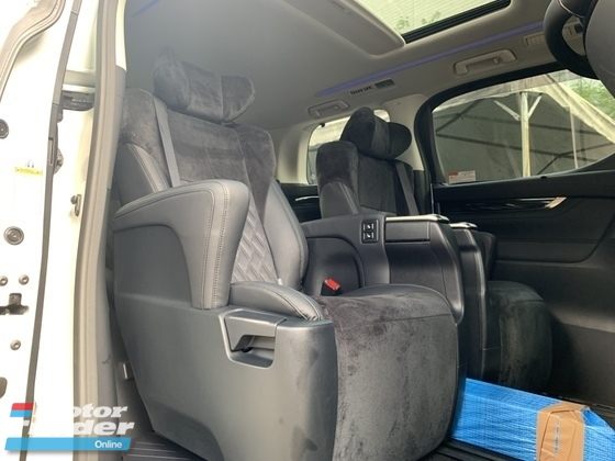 2017 TOYOTA ALPHARD 2.5 SC SUNROOF PILOT SEATS 3 POWER DOOR UNREG