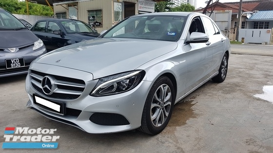 2018 MERCEDES-BENZ C-CLASS C180 CGI (A) REG 2018, CKD, ONE CAREFUL OWNER, FULL SERVICE RECORD, LOW MILEAGE DONE 13K KM, UNDER WARRANTY UNTIL APRIL 2022