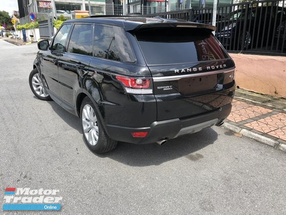 2016 LAND ROVER RANGE ROVER SPORT 3.0 Petrol HSE Dynamic Sunroof Panoramic Roof Power Boot Surround Camera
