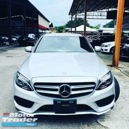 2015 MERCEDES-BENZ C-CLASS C180 sedan luxury unregistered recon