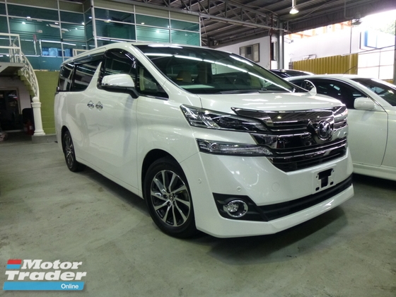 2016 TOYOTA VELLFIRE 2.5 V ZG. JBL Sound System. Price NEGOTIABLE. FULL LOAN. Provide WARRANTY. Free Servicing. ALPHARD
