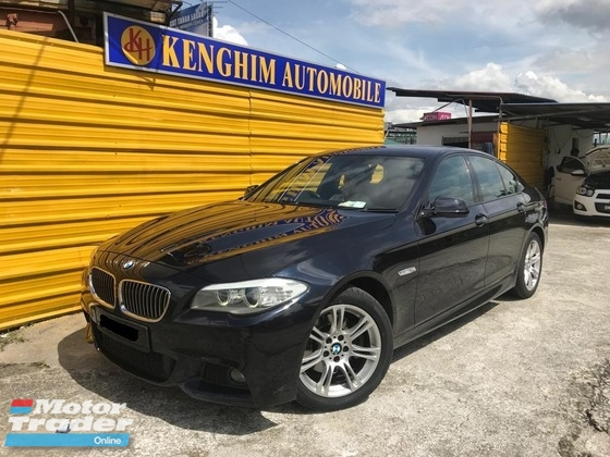 2014 BMW 5 SERIES 528I M-SPORTS 2.0 (A) SERVICE RECORDS TWIN POWER TURBO LOCAL IMPORT NEW