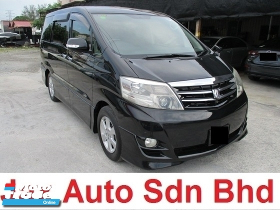 2006 TOYOTA ALPHARD 3.0 2 power door full bodykit sunroof moonroof