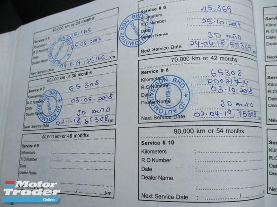 2014 KIA OPTIMA K5 2.0Ccc 69000km FULL SERVICE RECORD  facelift full spec leather seat sunroof