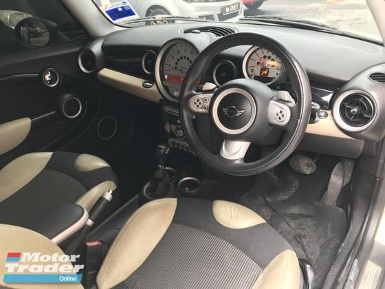 2009 MINI Cooper S 1.6 (AT) R56 P/SHIFT PUSH START  ONE CAREFUL OWNER