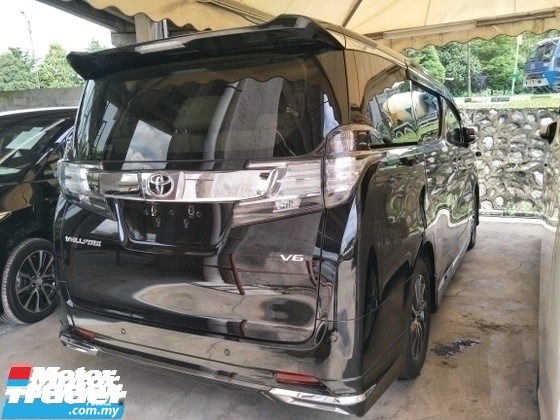 2015 TOYOTA VELLFIRE 3.5 V6 JBL THEATER PRE CRASH STOP SYSTEM MODELISTA BODY KIT FULL SPEC