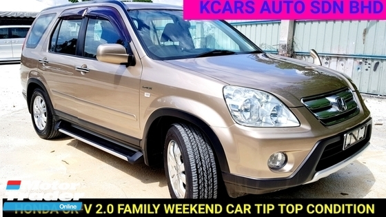 2007 HONDA CR-V CR-V FAMILY WEEKEND CAR TIPTOP