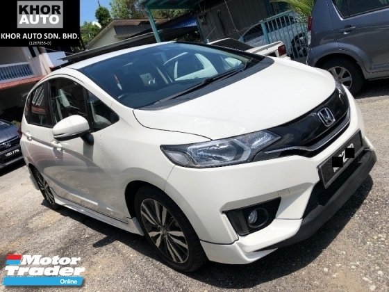 2015 HONDA JAZZ 1.5 V i-VTEC (A) WHITE EDITION V FULL SPEC
