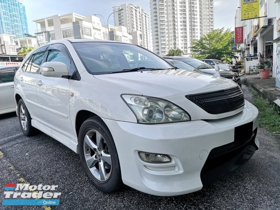 2003 TOYOTA HARRIER 240G L PACKAGE DIRECT OWNER