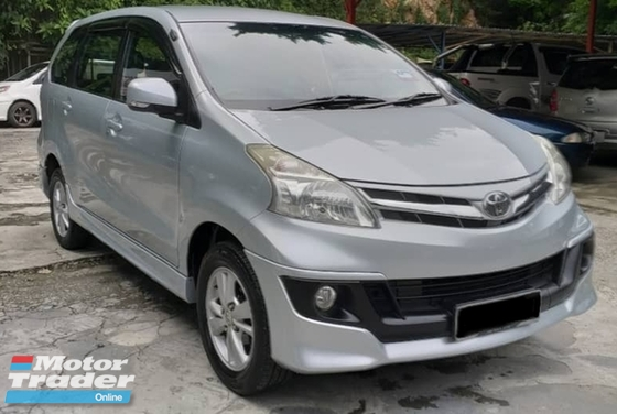 2013 TOYOTA AVANZA 1.5G TRD SPORTRIO HIGHEST SPEC FULL LOAN