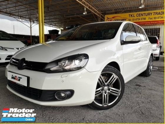 2011 VOLKSWAGEN GOLF 1.4 (A) TSI CBU GOOD CONDITION 1 CAREFUL OWNER ACC FREE PROMOTION PRICE \