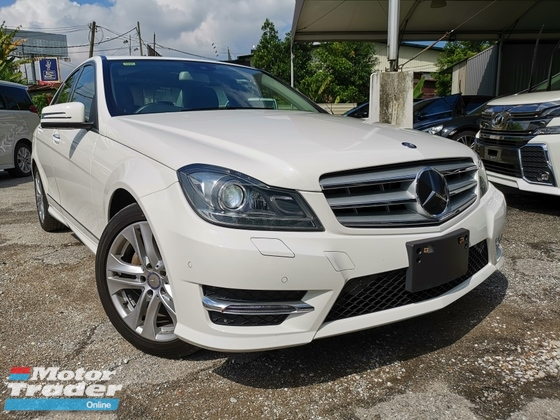 2013 MERCEDES-BENZ C-CLASS C180 AVANTGARDE KEYLESS PUSH START RADAR UNREG