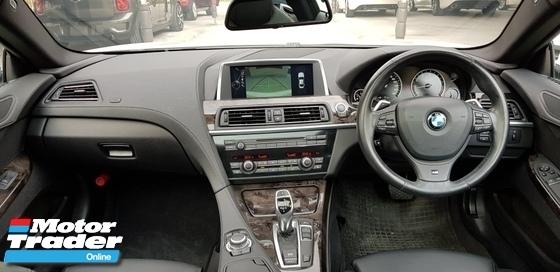 2013 BMW 6 SERIES 640I COUPE 3.0 M-SPORT JPN UNREG