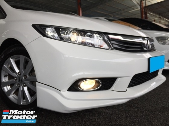 2013 HONDA CIVIC 1.8 CC (A) FB NAVI FULL BODYKIT WARRANTY ONE YEAR TOYOTA VIOS 1.5