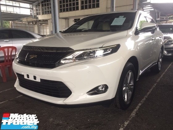 2015 TOYOTA HARRIER 2.0 PREMIUM SPEC.UNREGISTER.TRUE YEAR CAN PROVE.POWER BOOT.360 SURROUND CAMERA.LED DAYLIGHT.ELECTRIC SEAT WITH LEATHER.LUXURY INTERIOR.FREE WARRANTY N MANY GIFTS