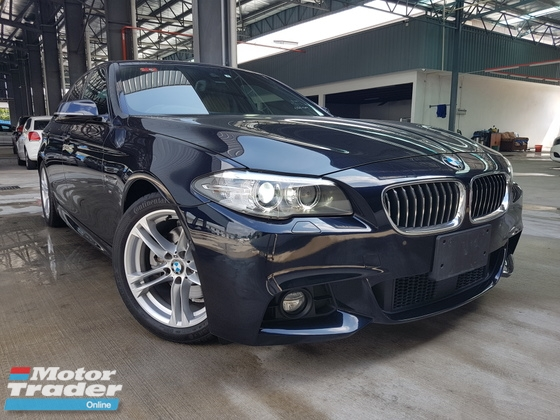 2015 BMW 5 SERIES 2015 BMW 520i M Sport Facelift Japan Spec Unregister for sale