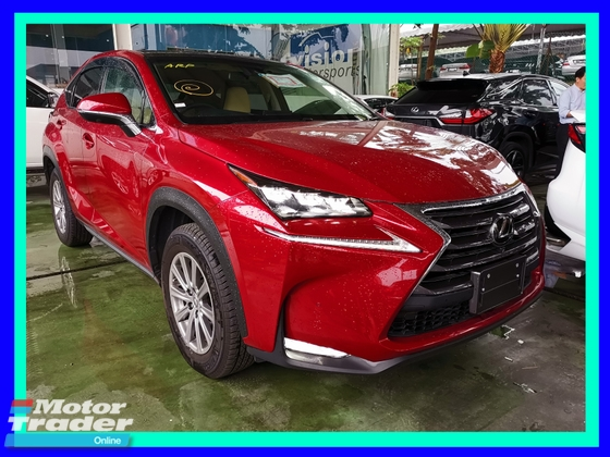 2014 LEXUS NX 200T i-PACKAGE FULL SPEC - UNREG -
